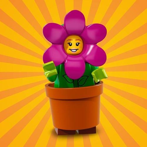 LEGO-Minifigures-Series-18-Flowerpot-Girl