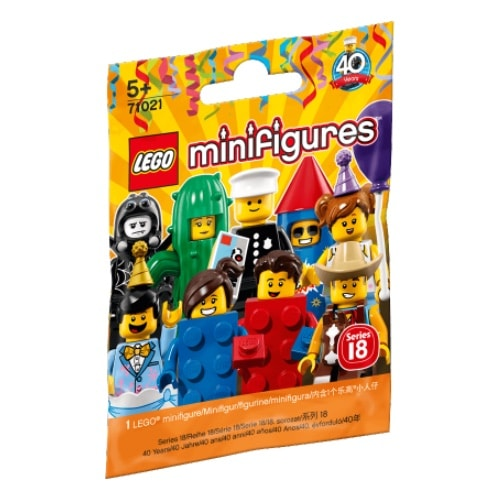 LEGO Minifigures Series 18- Party (71021)