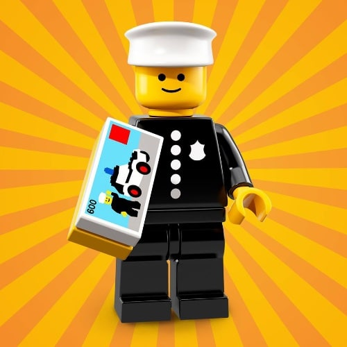 LEGO-Minifigures-Series-18-Police-Officer