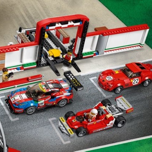 lego speed champions ferrari ultimate garage 75889. Black Bedroom Furniture Sets. Home Design Ideas