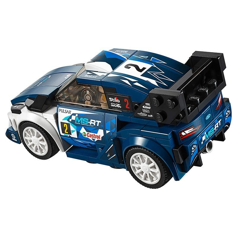 lego speed champions ford fiesta m sport wrc 75885. Black Bedroom Furniture Sets. Home Design Ideas