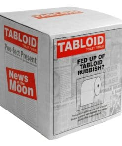 Tabloid Newspaper Novelty Toilet Paper