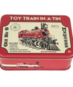 Toy Train in a Tin