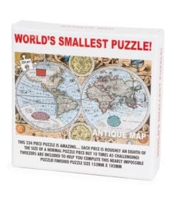 Worlds Smallest Puzzle - Antique Map
