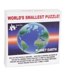 Worlds Smallest Puzzle - Planet Earth