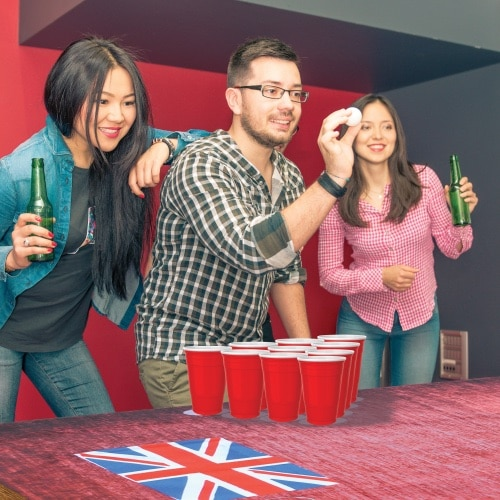 Instant Pub Bar and Beer Pong Table Cover