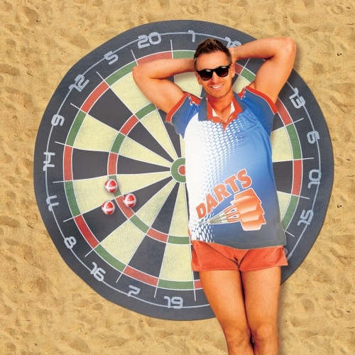 Dart Board Beach Towel