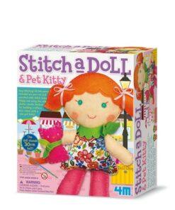 Stitch A Doll & Pet Kitty (2766)