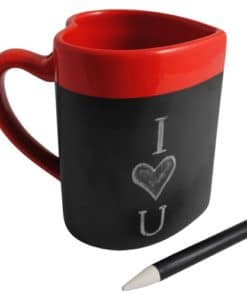 Be Mine Love Heart Message Mug