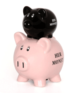 His and Hers Piggy Bank