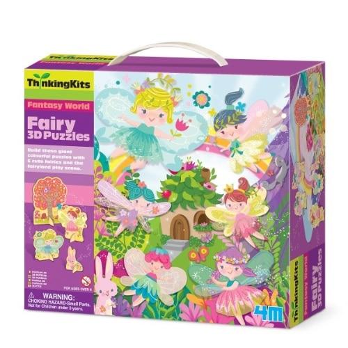 3D Puzzles - Fairy (4717)