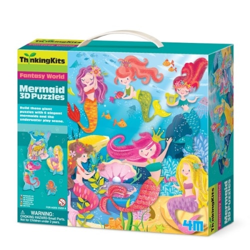 3D Puzzles - Mermaid (4719)