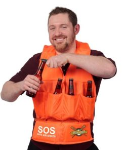 Beer Vest with a bottle opener