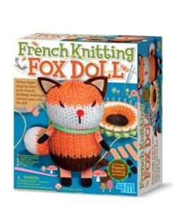 French Knitting Fox Doll Kit (4682)
