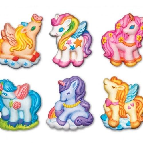 Mould & Paint Glitter Unicorns (4708)