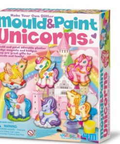 Mould & Paint Glitter Unicorns (4708)