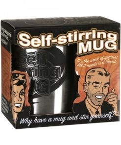 Self-Stirring Mug - Yuppie Gadgets