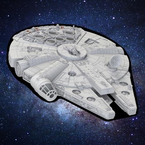 Star Wars Millennium Falcon Picnic Rug