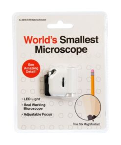 Worlds Smallest Microscope