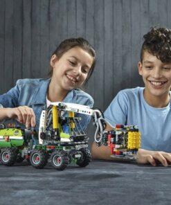 Lego Technic Forest Machine