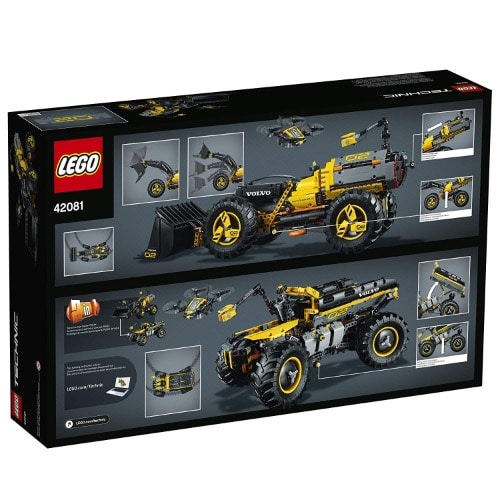 Lego Technic Volvo Concept Wheel Loader Zeux 4