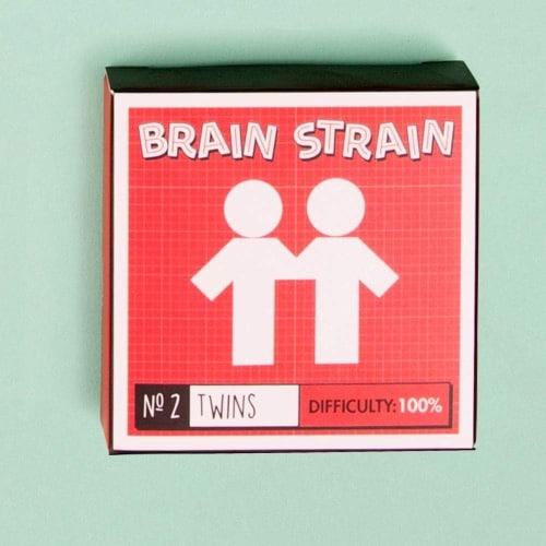 Brain Strain Puzzle - 6 Pack
