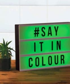 Colour Changing Message Board