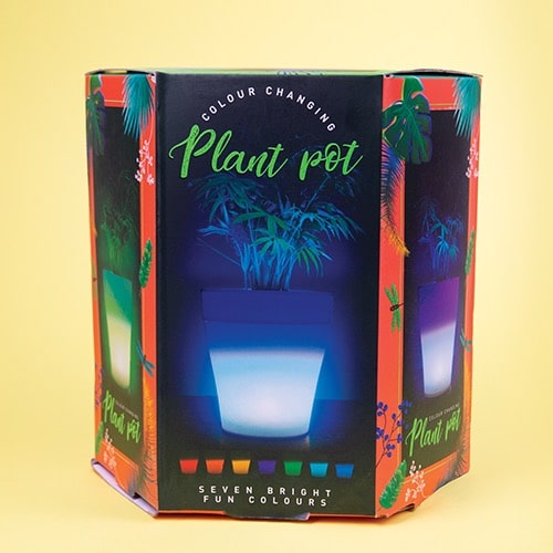 Colour Changing Plant Pot
