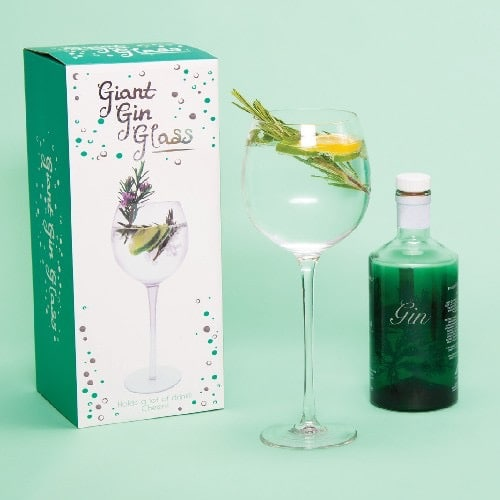 Giant Gin Glass