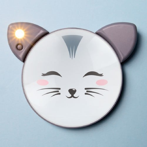 Light Up Mirror - Cat
