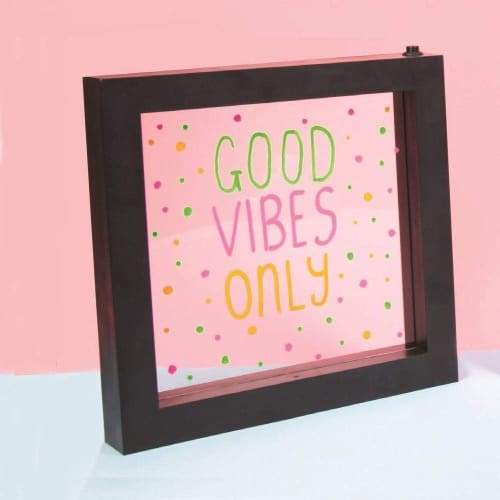 Light Up Neon Effect Frame