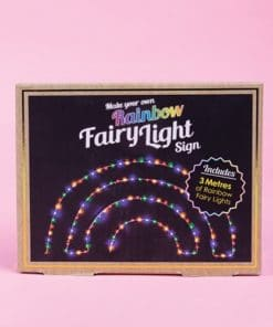 Make Your Own Rainbow Fairy Light
