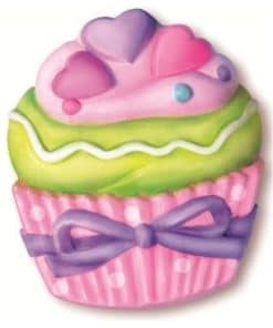 Mould and Paint Cupcake Kit