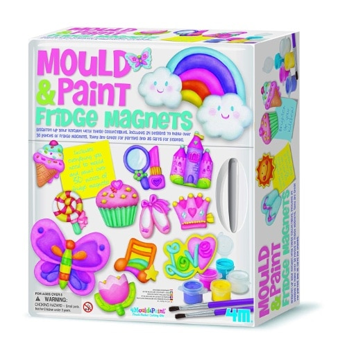 Mould and Paint Fridge Magnets