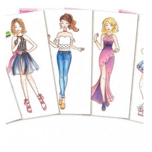 My Design Portfolio Fashion Studio Set