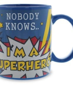 Nobody Knows Im a Superhero Heat Changing Mug