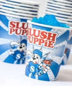 SLUSH PUPPiE Paper Cups and Straws