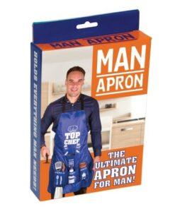 man apron