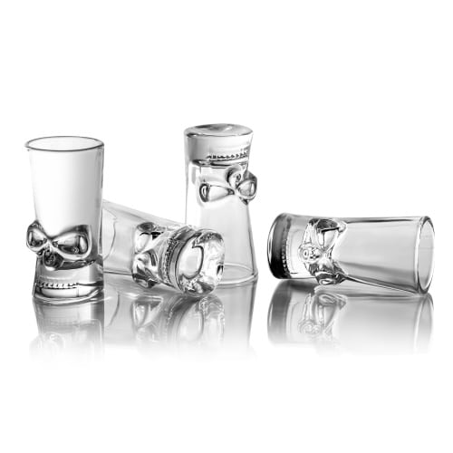 BrainFreeze Skull Shot Glass Set