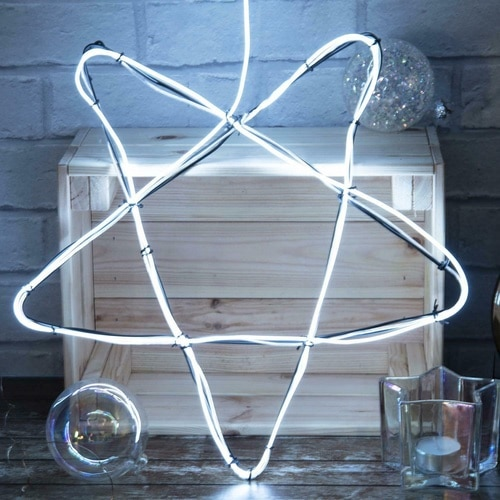 Make Your Own Neon Effect Light - White
