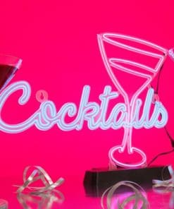 EL Cocktails Sign Light