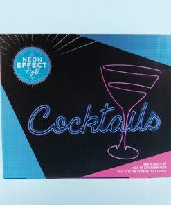 EL Cocktails Sign Light